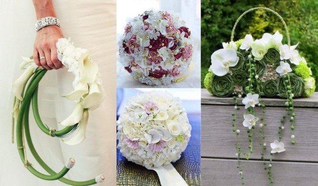 Bouquet Sposa Borsetta.Bouquet Sposa Stili E Forme Jess I Do Fiori E Allestimenti