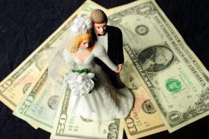 topper sposi sui soldi