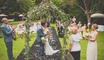 matrimonio celebrato da un amico