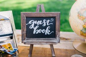 lavagnetta per guest book