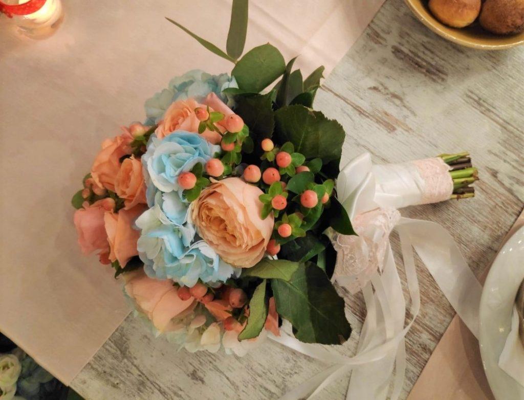 bouquet sposa vera
