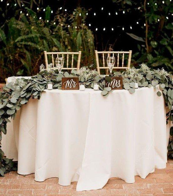 assegnazione dei posti, tavolo degli sposi
